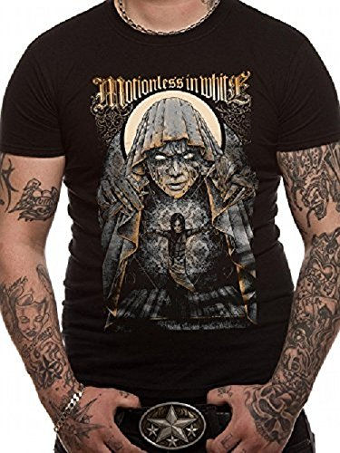 CID MOTIONLESS IN WHITE - GRANDE FINALE-T-shirt  uomo,    nero X-large (dimensione produttore: XL)