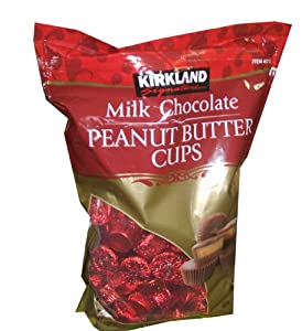 Kirkland Signature Milk Chocolate Peanut Butter Cups 140 Piece Bag