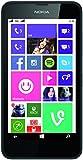 """Nokia lumia 630 dual sIM smartphone (11,4 cm (4,5 """") avec écran tactile, appareil photo 5 mpx vidéo hD-ready, snapdragon 400, 1,2 gHz quad-core, windows 8.1)"""
