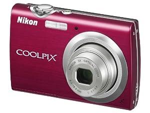 Nikon Coolpix S230 Digitalkamera (10 Megapixel, 3-fach optischer Zoom, 7,6 cm (3 Zoll) Display) rot