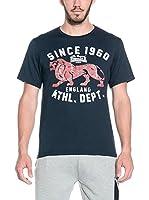 Lonsdale Camiseta Manga Corta Witney (Azul Oscuro)