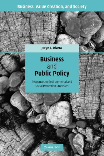 Business and Public Policy: Responses to Environmental and Social Protection Processes (Business, Value Creation, and Society)