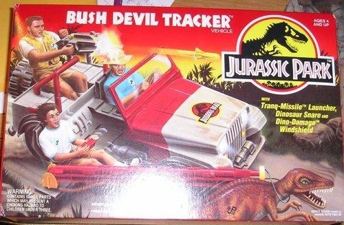 Jurassic Park 1993 Kenner Jurassic Park Bush Devil Tracker Vehicle