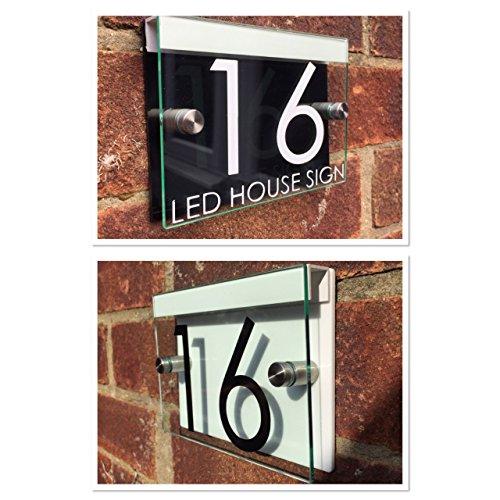 rue-plaque-maison-numero-de-porte-en-verre-moderne-en-acrylique-noir-blanc-led-support