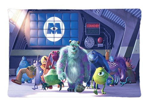 100% Brand New Monsters Inc Monsters Personality 20 x 30 Inches Zippered Pillow Case An Ideal Gift To Others (Monsters Inc Bedroom Decor compare prices)