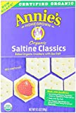 Annie's Homegrown Organic Bunny Classic Crackers Saltines, 6.5 Ounce Boxes (Pack of 6)
