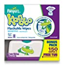 Pampers Kandoo Flushable Wipes For To...