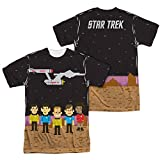 Sublimation Front/Back: Pixel Crew Star Trek The Original Series T-Shirt