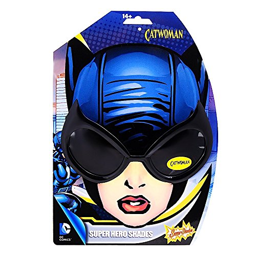 Catwoman Sunglasses. DC Comic Catwoman Halloween & Costume Party Sunglasses