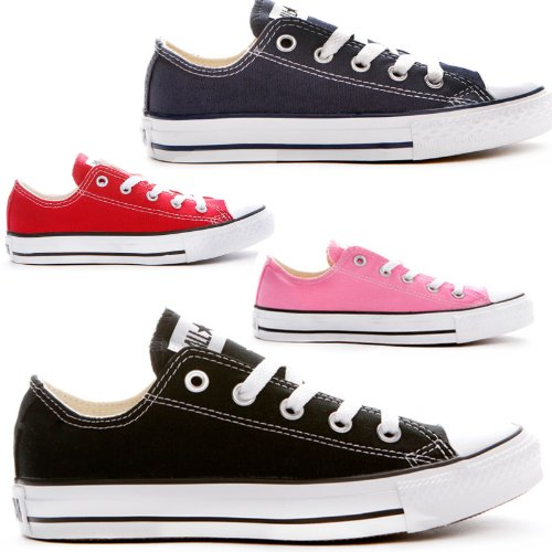 New Kids All Star Converse Chuck Taylor Low Lo Converse Pumps Sports Dance Fashion Lace Up Canvas Trainers Uk Sizes 10 11 12 13 1 2