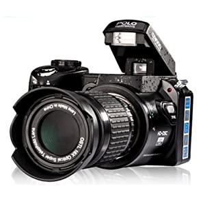 "Digital SLR Camera UpgradeVersion 16MP 3.0"" LCD Full-HD With 16X Optical Zoom Telephoto Lens Wide Angel Lens DSLR Camera"