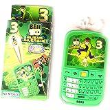 Cuteworld Baby Phone For Kids - Mini Toy Phone - Green - Boys