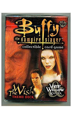 Buffy the Vampire Slayer Card Game Class of 99 The Wish Theme Deck Vamp Willow Xander - 1