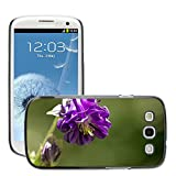 Hot Style Cell Phone PC Hard Case Cover M00310539 Common Columbine Flower Purple Plant Samsung Galaxy S3 S III SIII i9300