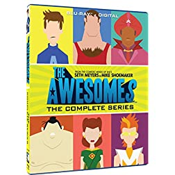 The Awesomes The Complete Series [Blu-ray]