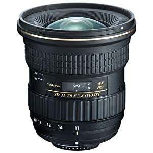 Tokina 11-20MM F/2.8 PRO DIGITAL LENS for NIKON