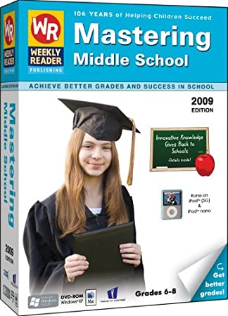 Weekly Reader Learning System: Mastering Middle School 2009