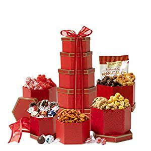 Broadway Basketeers Valentine's Day Gift Tower