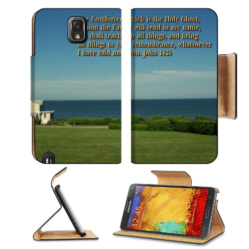 John Comforter Holy Father Teacher Samsung Galaxy Note 3 N9000 Flip Case Stand Magnetic Cover Open Ports Customized Made To Order Support Ready Premium Deluxe Pu Leather 5 15/16 Inch (150Mm) X 3 1/2 Inch (89Mm) X 9/16 Inch (14Mm) Liil Note Cover Professio front-498931