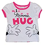 Disney My 1st Minnie Mouse Hug Double Sided Baby Girls Tee T-Shirt