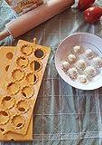 Versatile Ravioli Maker Set for Delicious Homemade Pasta, Pierogi, Wontons, Pelmeni, Mandoo, Shish Barak, Kreplach & Other Dumplings | 12-Pocket Tray, 3 Molds & Bonus Recipe Ebook Included