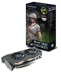 Sapphire Radeon HD 7870 GHZ OC 2 GB GDDR5 Graphics Card (11199-03-20G)