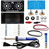 Elenco  Resistor Substitution Box Soldering Kit with Iron and Solder