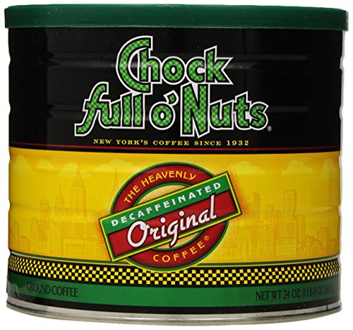 Chock full o'Nuts Coffee Original Decaf Ground, 24 Ounce (Chock Full O Nuts Decaf compare prices)