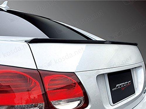 TrueLine Flat Black Finish Trunk Spoiler Lip Kit (Nissan Versa 2012 Spoiler compare prices)