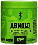 Muscle Pharm Arnold Schwarzenegger Iron CRE3 Creatine, Blue Raspberry, 30 Servings
