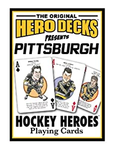 Pittsburg Penguins Herodecks Hero Playing Cards
