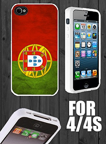 Portugal Custom made Case/Cover/skin FOR Apple iPhone 4/4s - White - Rubber Case + FREE SCREEN PROTECTOR ( Ship From CA) (Ebay Portugal compare prices)