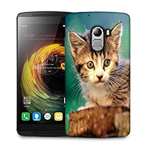 Snoogg Poor Kitty Designer Protective Phone Back Case Cover For Lenovo Vibe K4 Note