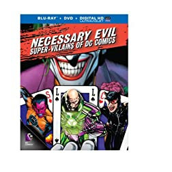 Necessary Evil: Super-Villains of DC Comics (Blu-ray+DVD+UltraViolet Combo Pack)
