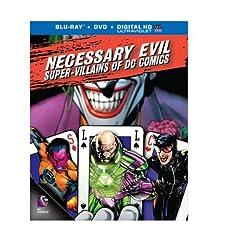 Necessary Evil: Super-Villains of DC Comics (Blu-ray+DVD+UltraViolet Combo Pack)