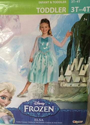 Frozen Elsa Toddler Costume 3t-4t