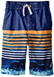 Nautica Boys 8-20 Tie Dyed Stripe Swim Trunk