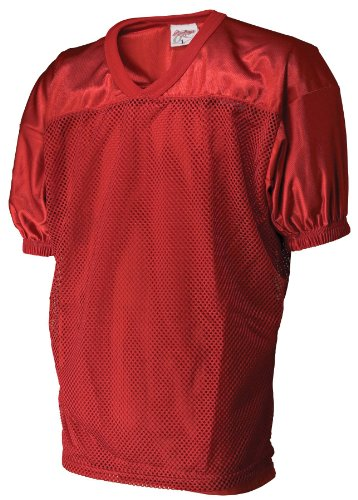 Rawlings Boys' Yfj9204 Football Jersey (Scarlet, Large)
