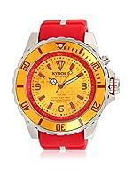 KYBOE! Reloj automático Unisex Rojo 55 mm