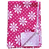 Babysid Collections Pink Baby Quick Dry Sheet - Large - Size : 145 X 100 Cm