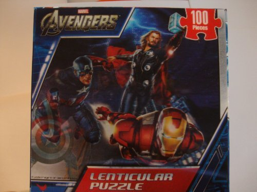 Marvel The Avengers - 100 Piece Lenticular Puzzle - 1