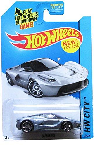 Hot Wheels 2014 Laferrari Silver - 1