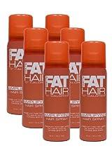 Scratch & Dent: <br />Case of 6 Fat Hair Travel Size Hair Spray (Original Formula)