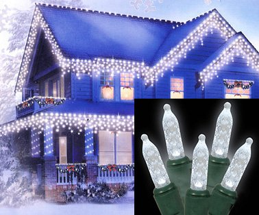 Blue Led Icicle Lights