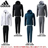 adidas(アディダス) ID スウェット フルジップ パーカー パンツ 上下セット 【メンズ】 (BVA02/BVA05) (L, ホワイト(AZ4800/AZ4828))