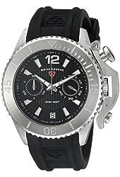 Swiss Legend Men's 14018SM-01 Scorpion Analog Display Swiss Quartz Black Watch