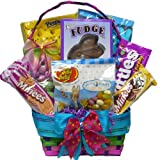 Art of Appreciation Gift Baskets Bunny Treats Cookie and Candy Easter Gift Basket, Small