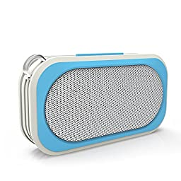 Waterproof Bluetooth Speakers - Portable, Wireless, Handsfree - IPX67 Rated For Use in Shower(blue)