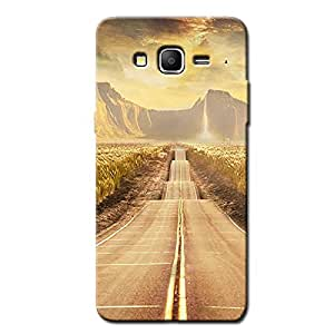 ROAD SCENERY BACK COVER SAMSUNG ON 7