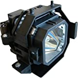 Replacement Lamp for EPSON ELPLP31, EMP-830, EMP-830P, EMP-835, EMP-835P, PowerLite 830, PowerLite 830p, PowerLite 835, PowerLite 835p, V11H145020, V11H146020